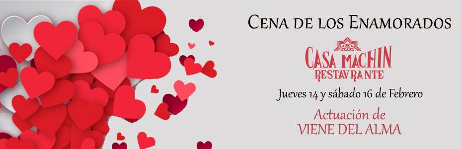 Celebra con nosotros el día de los Enamorados